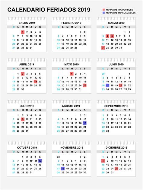 feriados argentina calendario de dias laborables