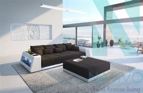 canape profond canapé vice ac éclairage led nativo mobilier design