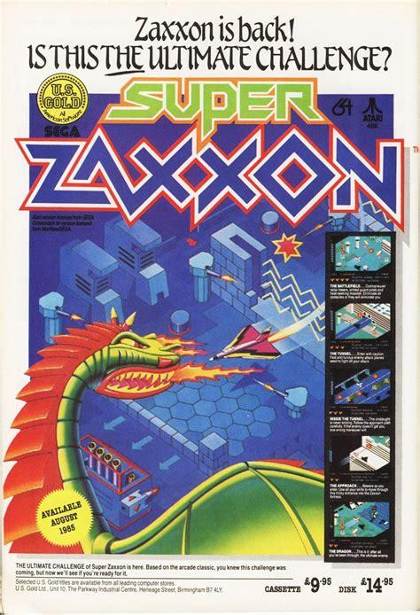 Super Zaxxon 1985 Arcade And Video Games Pinterest