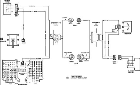 Chevy Motor Wiring Diagram by 1990 Chevy Suburban Blower Motor Doesnt Work Need Wiring