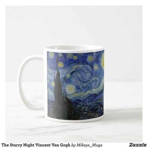 Gogh gogh coffee company, college station, texas. The Starry Night Vincent Van Gogh Coffee Mug | Zazzle.co.uk | Starry night van gogh, Gogh the ...