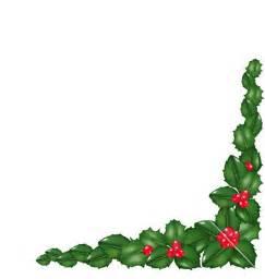 Christmas Garland Clip Art Borders