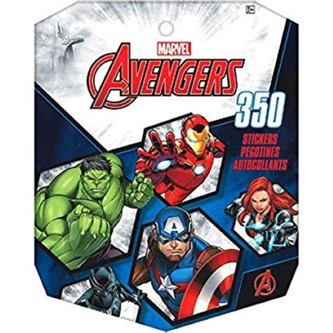 avengers large sticker book kids themed party supplies