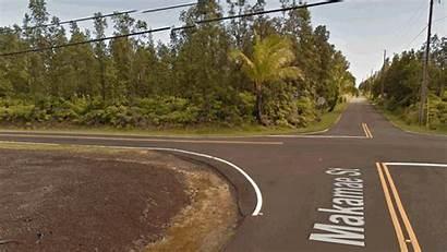 Hawaii Leilani Estates Kilauea Lava Volcano Before