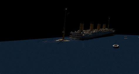minecraft titanic sinking rms titanic sinking at 1 45 am minecraft project