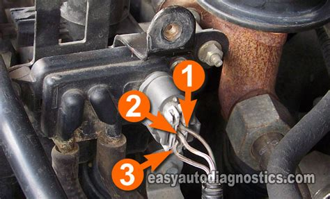 Part 1 -how To Test The Ford Egr Valve Egr Vacuum Solenoid