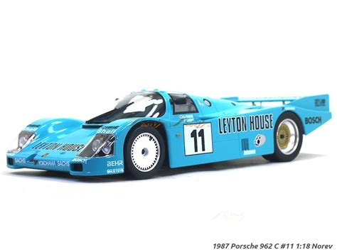 The 962c competed in 1989's all japan sports prototype car endurance championship, where it took on fuji speedway's ten taut turns and. 1987 Porsche 962 C #11 1:18 Norev diecast scale model car ...