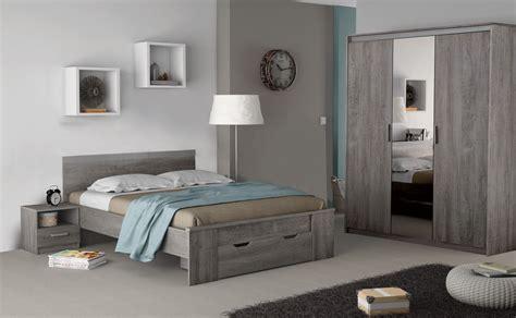 chambre complet chambre adulte complète contemporaine chêne prata