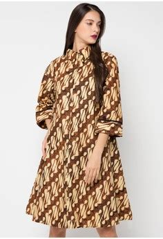 model baju batik zalora