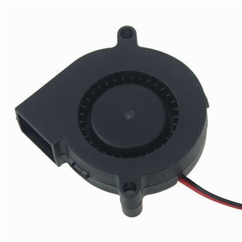 5cm 50mm x 15mm 24v 0 1a brushless dc cooling centrifugal blower fan 2pin 5015s ebay