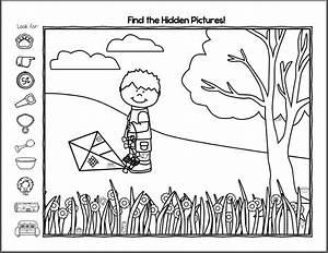 Free Hidden Pictures Worksheets   Activity Shelter