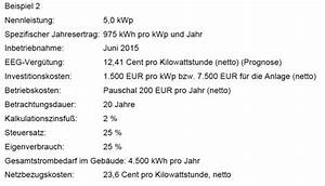 Irr Berechnen : lohnt sich das denn wie wirtschaftlich sind photovoltaikanlagen noch photovoltaik ~ Themetempest.com Abrechnung