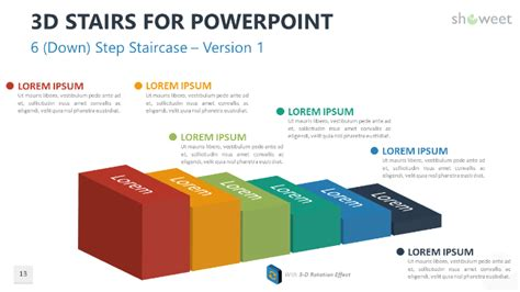 stair templates  powerpoint