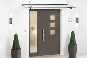 Vordach Haustür Glas : vordach f r ihren eingangsbereich glaserei richter ~ Orissabook.com Haus und Dekorationen