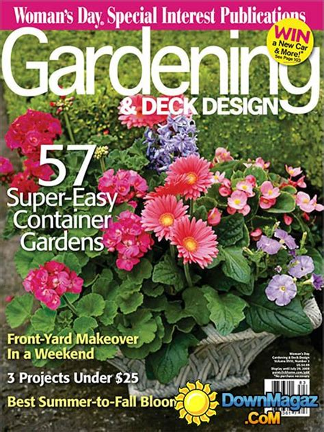 gardening magazines gardening deck design magazine vol 18 no 3 187 download pdf magazines magazines commumity