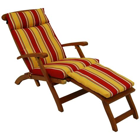 steamer deck lounge chair cushion uv resistant
