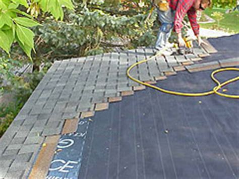 How To Install Asphalt Roof Shingles On A Small House