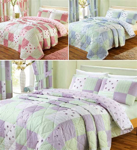 Cover Bedding by Vintage Patchwork Quilt Cover Floral Bedding Poly Cotton