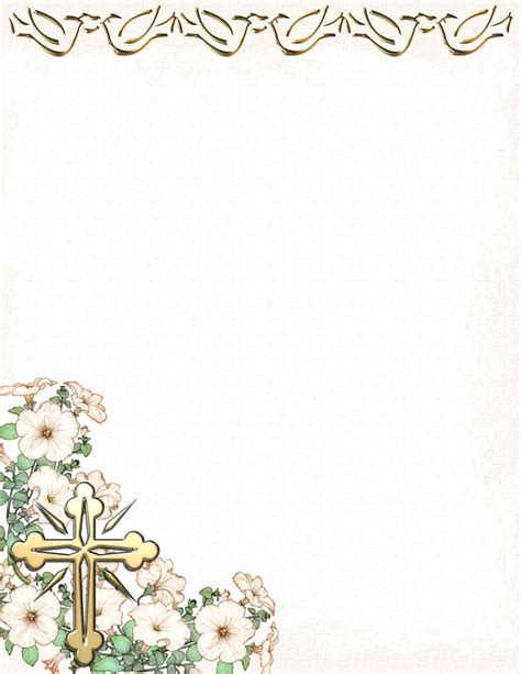 Download church letterhead template for free. Pin on Easter Stationery