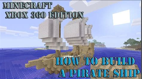 How To Make A Double Boat In Minecraft by How To Build A Moving Boat In Minecraft Xbox 360