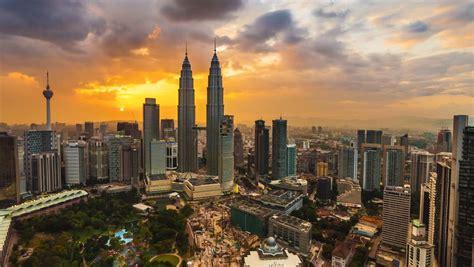 downtown cityscape  kuala lumpur  night  malaysia