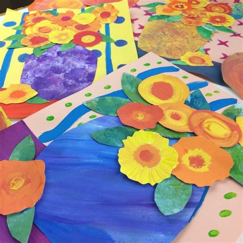 Painted Paper Art | mini masterpieces of art for kids ...