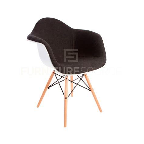 eames style molded shell daw eiffel dowel leg upholstered