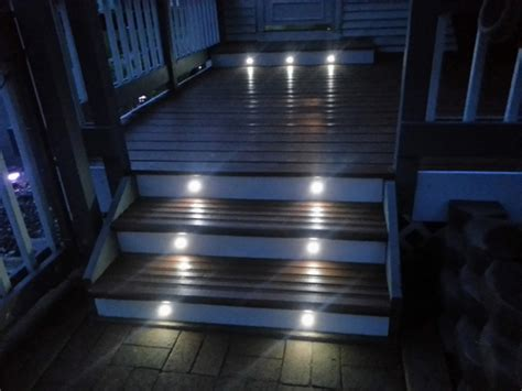 led deck lights great ideas deck stair lights doherty house