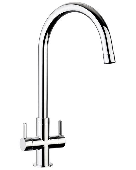 monobloc mixer taps kitchen sink rangemaster monorise monobloc dual lever kitchen sink 9289
