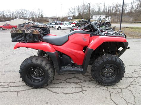 2015 Honda Rancher 420 4x4 Electric Shift W/ Winch