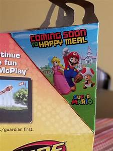 Super Mario Happy Meal toys coming to Canadian McDonald's ...