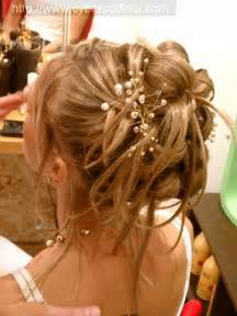 coiffure mariage chignon coiffure mariage cheveux longs chignon