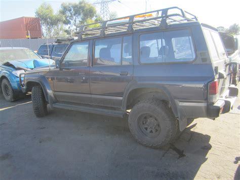 nissan patrol 1989 nissan patrol gq wagon 1989 wrecking