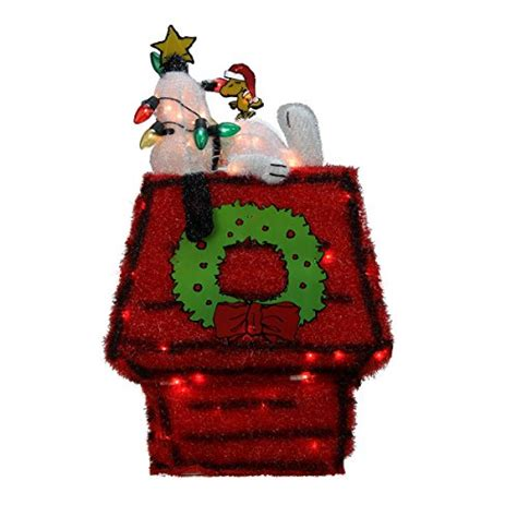 peanuts outdoor christmas decorations funk  house