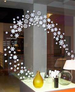 Cool Christmas Snowflake In Silhouette For Window