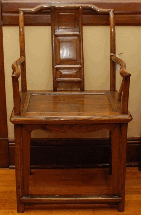 asian style furniture  china ming style yoke  chair