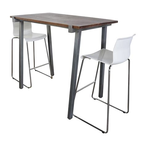 Hoher Esstisch Mit Hockern by 51 Cb2 Cb2 High Dining Table And Chairs Set Tables