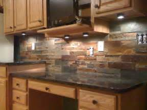 Tile Backsplash Ideas For Kitchen Granite Countertops And Tile Backsplash Ideas Eclectic Kitchen Indianapolis By Supreme