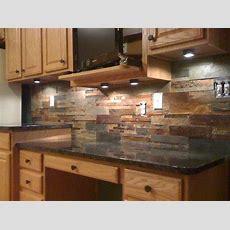 Granite Countertops And Tile Backsplash Ideas  Eclectic