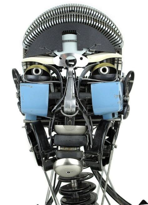 Awesome Typewriter Assemblage Sculptures by Mayer Recycled Typewriter Sculptures Recycled