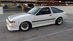 Toyota Corolla Hatchback 1985 White For Sale