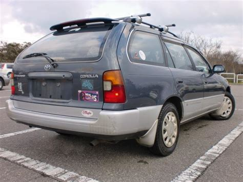 Japanese Used Toyota Corolla Touring Wagon G Touring 40