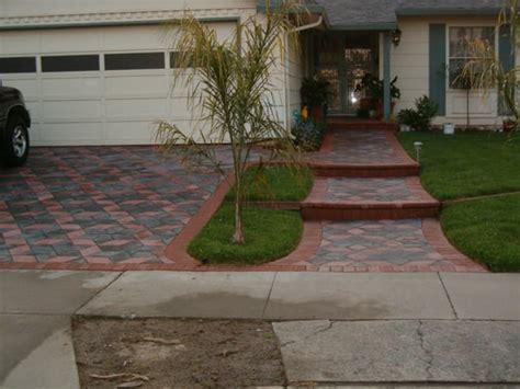 pavers paver stones driveway landscaping repair