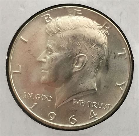 kennedy half dollar 1964 1964 d kennedy half dollar for sale buy now online item 132258