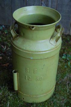 Antique Metal Milk Cans Pinterest