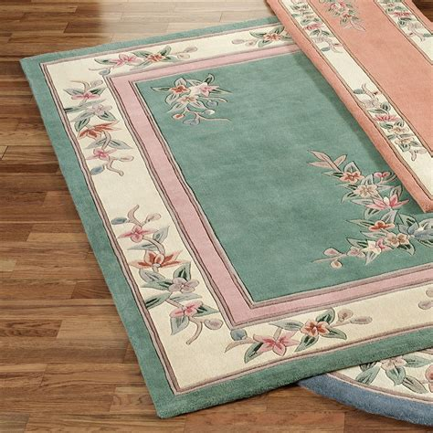floral area rugs corner floral area rugs