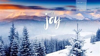 January Desktop Wallpapers Backgrounds Joy Choose Calendar