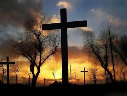 Cross Crosses Christian Field Jesus Bible Wallpapers