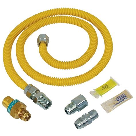 Brasscraft Safety+plus Gas Installation Kit For Dryer And