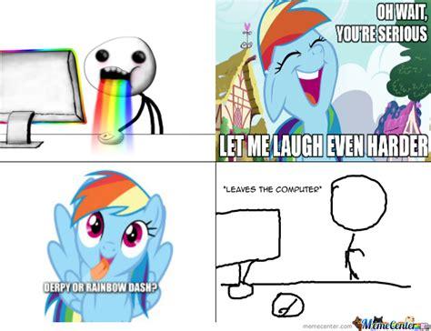 Rainbow Dash Meme - rainbow dash really by janzelle rodriguez meme center